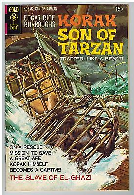 Korak Son Of Tarzan #35 1970 Gold Key Bronze Age High-Grade Vfn!