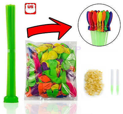 111pcs 3 Bunch Water Balloons Bunch O Water Bombs Refill Kit Tools Delightful