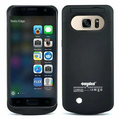 8000mAh For Samsung Galaxy S7 S9 S9+ External Backup Battery Charger Case Cover