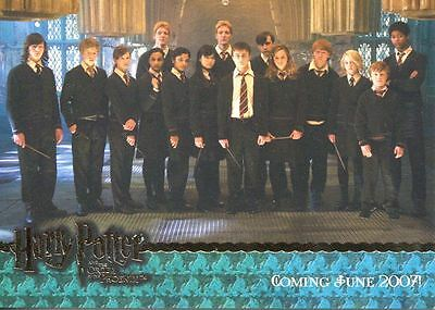 Harry Potter Order Of The Phoenix Bronze Stamped Promo #01