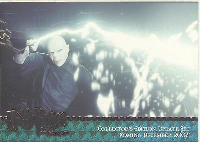 Harry Potter Order Of The Phoenix Update Bronze Stamped Promo Card #01