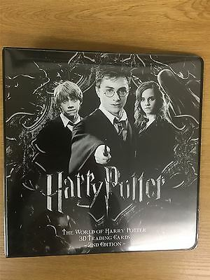 Harry Potter World Of 2nd Edition Black And White Official Artbox Binder