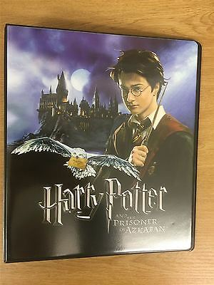 Harry Potter & The Prisoner Of Azkaban Official Artbox Binder