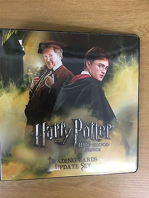 Harry Potter & The Half Blood Prince Update Official Artbox Binder