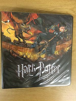 Harry Potter & The Goblet Of Fire Official Artbox Binder
