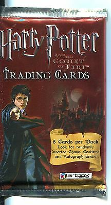 Harry Potter & The Goblet Of Fire Factory Sealed Hobby Packet / Pack