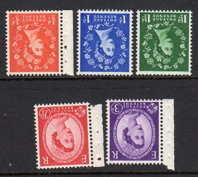 SG587Wi-592Wi 1958 Inverted Graphite Set UNMOUNTED MINT(503/521/546)