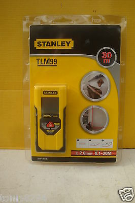 Stanley Tlm99 Ldm Laser Distance Measure Up To 30 Metres 1 77 138 Reduced