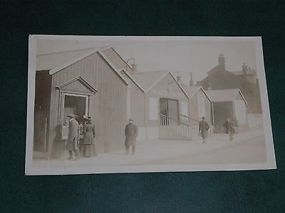 ORIGINAL REAL PHOTO POSTCARD - THE PALACE SKATING RINK, IPSWICH - c1911.