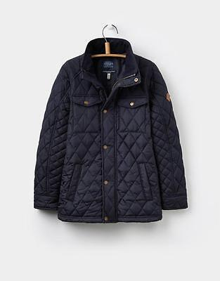 BNWT Jnr JOULES Boys Marine Navy STAFFORD Quilted Jacket (X) Age 2 Years