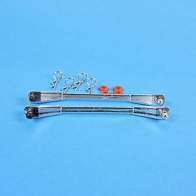 """Chrome Roof Bars """"roof racks"""" -may be suitable for 1:10 RC Cars &Trucks Tamiya"""