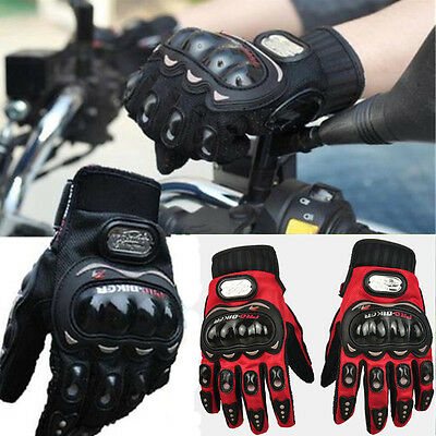 Summer Motorcycle Motorbike Gloves Thermal Armoured Knuckle Extra Protection