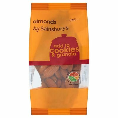 Sainsbury's Whole Almonds 200g