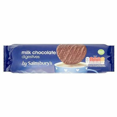 Sainsbury's Milk Chocolate Digestive Biscuits 400g
