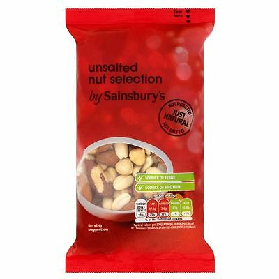 Sainsbury's Unsalted Nut Selection 200g