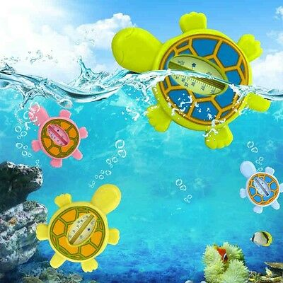 Baby Children Cartoon Animal Turtle Bath Water Thermometer Safe Temperature