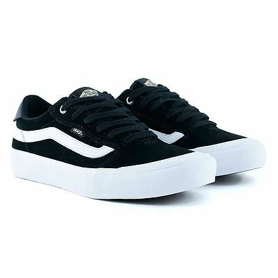 Vans Style 112 Pro Black White Skate Shoes New BNIB Limted Release Free Delivery