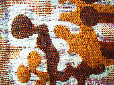 TOP! 2x 70s vorhang stoff eames panton space age curtain fabric graziela 120x162