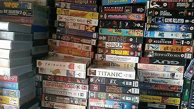 Approximately 350 VHS video tapes, COLLECTION ONLY, from East London