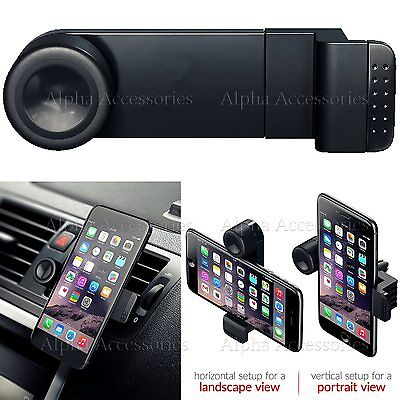 Car 360 Air vent Mount Holder Cradle Phone In Kit For Mobile Cell Phone Galaxy