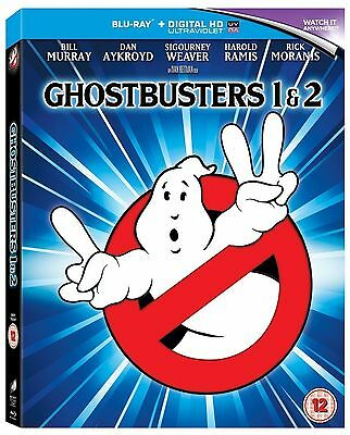 Ghostbusters 1 Ghostbusters 2 Blu Ray - New / Sealed - Uk Stock