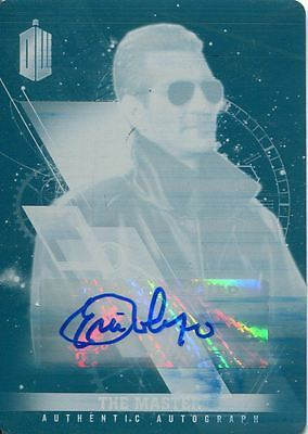 Doctor Who Timeless Printing Plate Autograph Card Eric Roberts