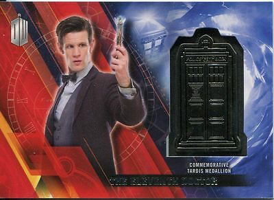 Doctor Who Timeless Silver Parallel [##/25] Tardis Card The Eleventh Doctor