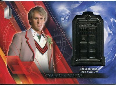 Doctor Who Timeless Silver Parallel [##/25] Tardis Card The Fifth Doctor