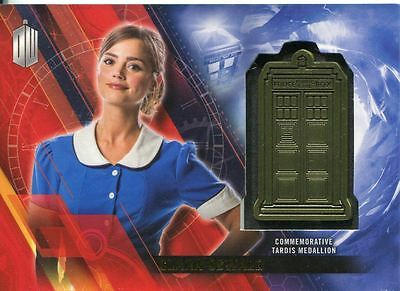 Doctor Who Timeless Gold Parallel [#/5] Tardis Card Clara Oswald