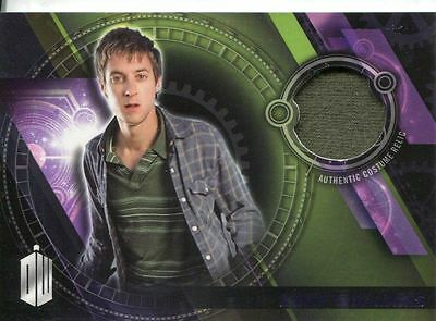 Doctor Who Timeless Purple Parallel [##/50] Costume Relic Card R. Williams Shirt