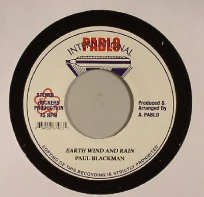 "BLACKMAN, Paul - Earth Wind & Rain - Vinyl (7"")"