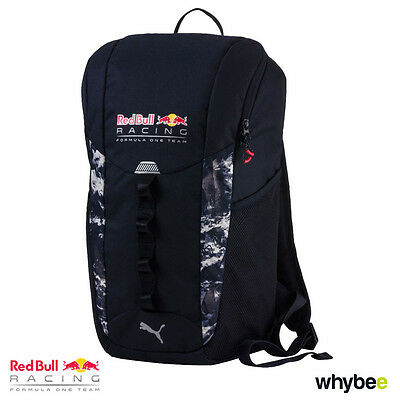 New! 2017 Red Bull Racing Formula One Team Backpack Rucksack Official Puma Range