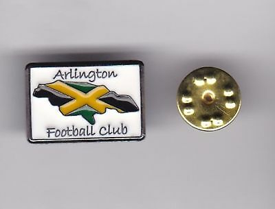 Arlington FC ( Jamaica ) - lapel badge butterfly fitting
