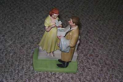 Norman Rockwell The American Family The First Prom 1979 Figurine