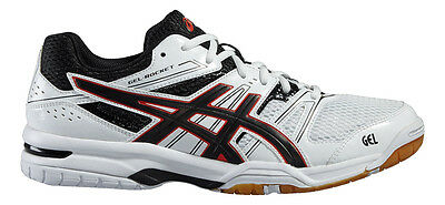 Asics Gel Rocket White Squash Shoes RRP £55