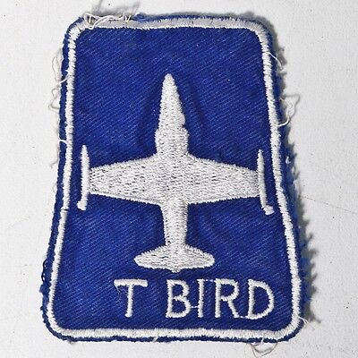 Vintage T-33 T-Bird USAF Air Force Patch