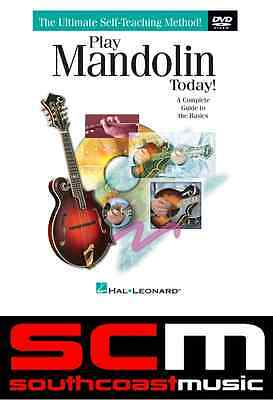 Play Mandolin Today DVD The Ultimate Self-Teaching Learn To Play Method New
