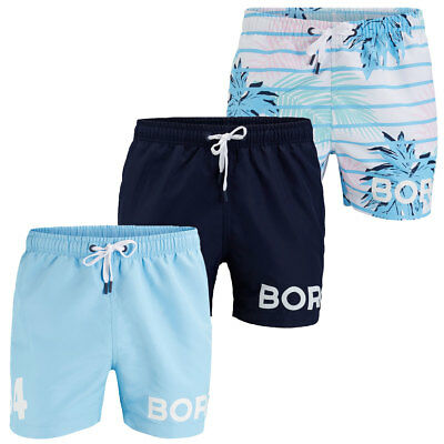 Bjorn Borg 2017 Mens BB Riviera Loose Fit Swim Shorts Swimming Trunks