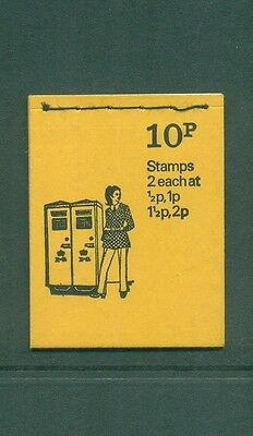 Great Britain 10p Pillar Box FEB 1974 DN64