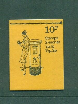Great Britain 10p Pillar Box June 1973 DN60