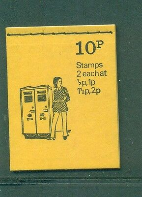 Great Britain 10p Pillar Box October 1973 DN62