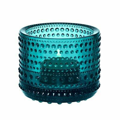 Iittala Kastehelmi Sea Blue Votive 6.4cm