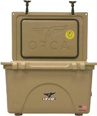New Orca Orct040 Tan Colored 40 Quart Insulated Ice Chest Cooler Usa 3450004