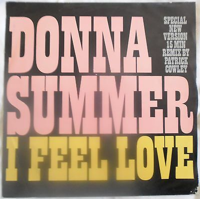 "Donna Summer - I Feel Love Patrick Cowley remix (12"" EP 1982) FEEL 12"