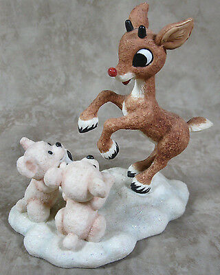 Rudolph And The Island Of Misfit Toys 875244 Sharing Fun and Friendship Enesco