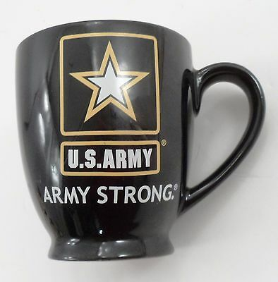 There's Strong Then There's Army Strong Huge Black US Army Military Star Mug Cup