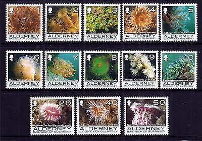 Alderney 2006/7 Corals and Anemones set fine fresh MNH