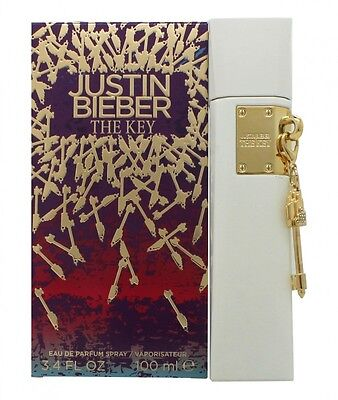 Justin Bieber The Key Eau De Parfum 100Ml Spray Für Sie. Neu