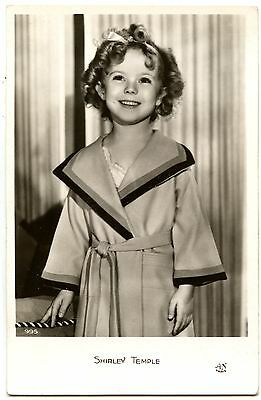Shirley Temple actrice comédienne - carte postale cpa photo ancienne