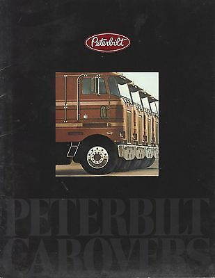 Brochure - Peterbilt Cabovers.  Class, Doubles, Reefer. Twin Steer.